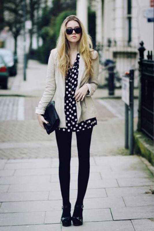 polka-dots-cream-blazer