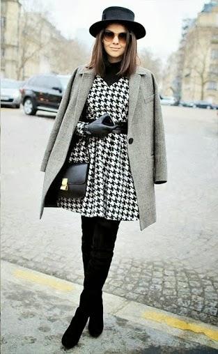 street_style_pied de poule-coat