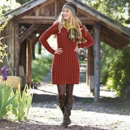 sweaterdressmodel