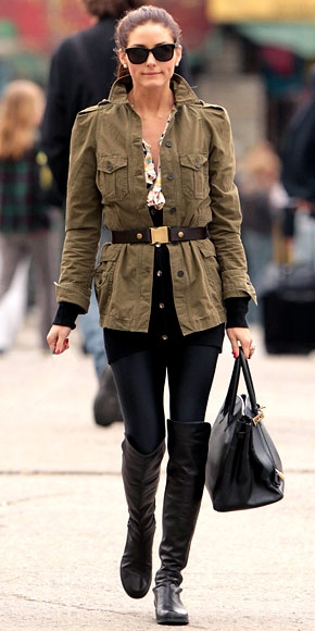 it-yourself-fashion-winter-trends-2013-military-chic-belted-military-jacket-+riding-boots